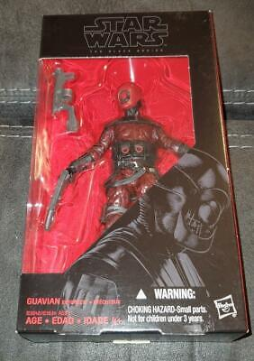 "Star Wars The Black Series - Guavian Enforcer #08 6"" FREE SHIPPING"