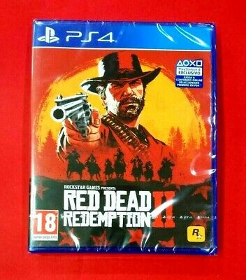 Red Dead Redemption 2 - PS4 - NUEVO