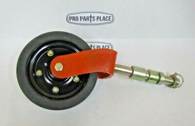 "Complete Maschio Jolly Caroni Curtis Wheel Assembly 8"" For Finishing Mowers"