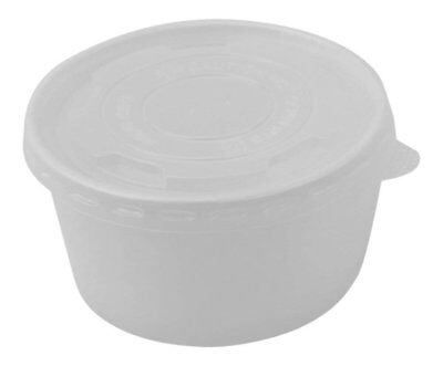 100 Count Deli Containers Durable Food Storage Containers with Lids, Hot and...