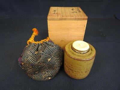 Tea Caddy Ceremony Chaire Sado Japanese Traditional Crafts t693