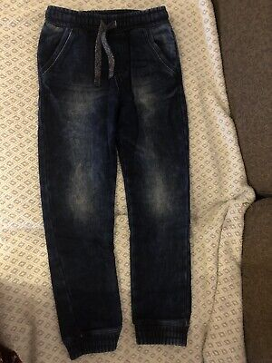 marks and spencer Boys Pull Up Denim Jeans Size 6-7 Years