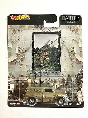 "Hot Wheels Premium~2019~Led Zeppelin #4/5~"" '67 Austin Mini Van""~Pop Culture~NM"