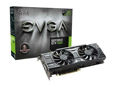 EVGA GeForce GTX 1060 GAMING, 06G-P4-6262-KR, 6GB GDDR5, ACX 3.0 & LED
