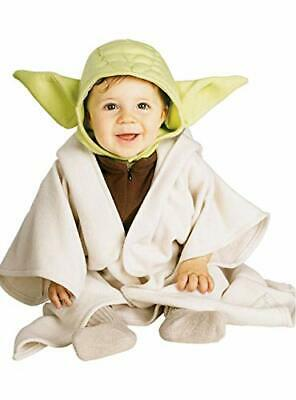Baby Rubies Costume Star Wars Complete Yoda Multi 12-24 Months New Gift  Gi