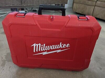 Milwaukee 2674-20 Short Throw Press Tool M18 w/Three (3) Jaws, Battery, Charger