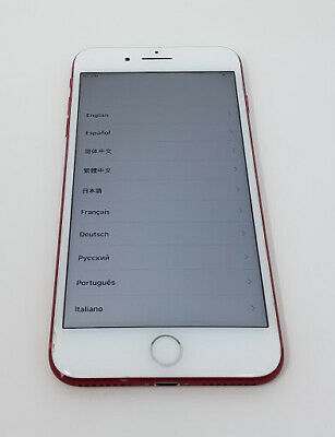 Apple iPhone 7 Plus 128GB Red (GSM Unlocked) Chipped Digitizer 30-Day Warranty