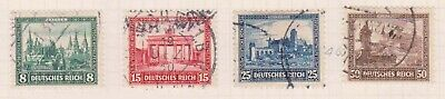 (K213-20) 1930 Germany set of 4stamps welfare fund 8f to50pf (T)