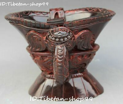 China Marked Ox Horn Oxhorn Elephant Head cann Goblet wineglass Jazz Cup