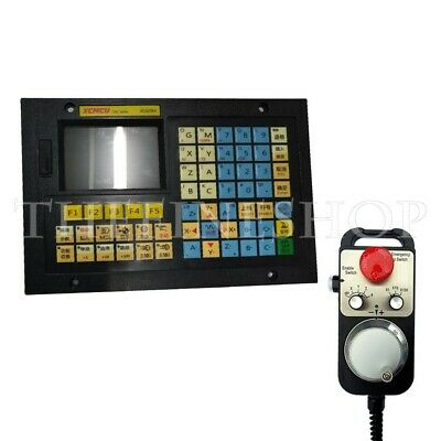 4Axis CNC System Controller XC609MD+100PPR MPG Pendant Handwheel Emergency Stop
