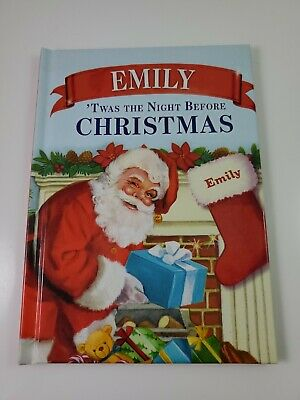 """'Twas the Night Before Christmas Personalized Book """"Emily"""""""