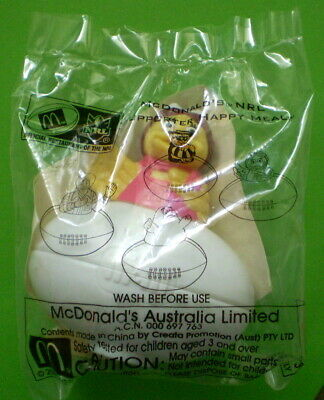 "NRL Supporter - Mcdonalds Happy Meal Toy - ""BIRDIE"" - 2000 SEALED"