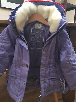 Poivre Blanc ski jacket size 2 Years colour mainly Lilac