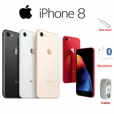 Apple iPhone 8 Smartphone 64GB/256GB Unlocked Full Colors New (other) Royal Mail