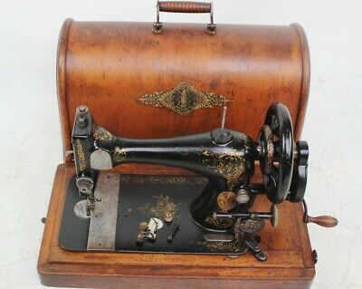 Antique Singer 28K Hand Crank Sewing Machine c1892 - FREE Shipping  [5796]