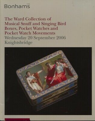 Bonhams 2006 Ward Collection Musical Snuff, Singing Bird Boxes