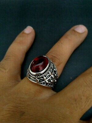 ANCIENT ANTIQUE OLD VINTAGE RARE ETHNIC Silver Royal Handcraft GOOD Quality RING