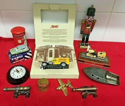 Job Lot Mixed Vintage / Retro Collectables (Lilliput Lane Model, Cars, etc)