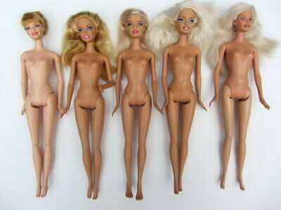 Barbie Doll BULK LOT MODERN NUDE x5 - Good Condition