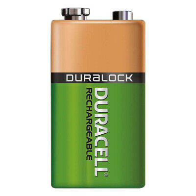 Duracell 9V batteries Recharge Ultra Ni-MH 170mAh E-Block 6HR61 Blister PACK