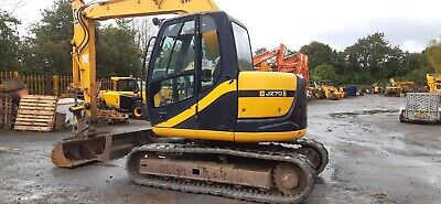 2006 JCB JZ70 Rubber tracked excavator,Hydraulic Quick hitch,7100 hours