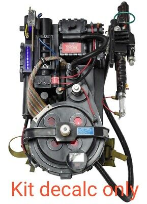 Ghostbusters Proton Pack - Adesivi, Decalcs,stikers