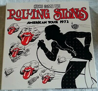 The Rolling Stones / 3 Cd / Here Comes The Rolling Stones American Tour 1972