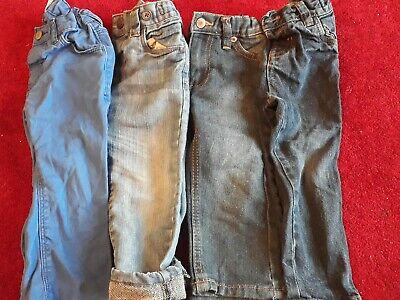 Boys Next 12-18 Month Jeans Bundle Next, H&M Etc