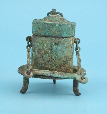Rare Old China Bronze Pot Antique Home Decoration Collec Gift