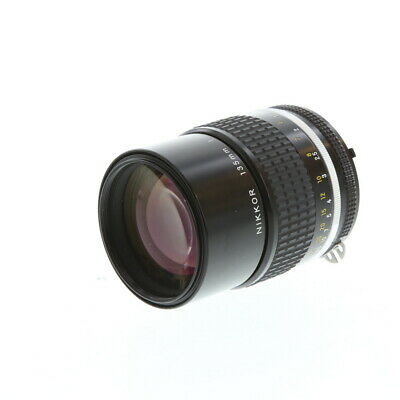 Nikon Nikkor 135mm F/2.8 AIS Manual Focus Lens {52} - EX