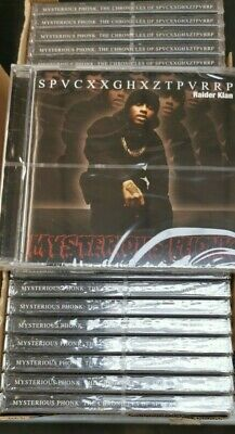Spaceghostpurrp - Mysterious Phonk (Job Lot Wholesale x25) New & Sealed CDs