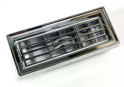 Chrome Plastic Dash Heater Air Conditioner A/C Vent For 2000-Older Peterbilt