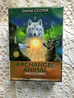 ARCHANGEL ANIMAL Oracle 44 Cards & Guidebook, by Diana Cooper NEW Sealed in Box