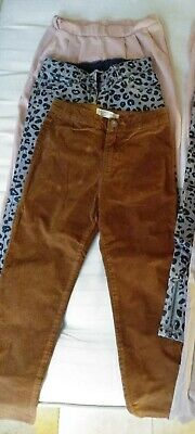 sz 8 Girls trousers (3 items). Stella McCartney ,Uniqlo, zara