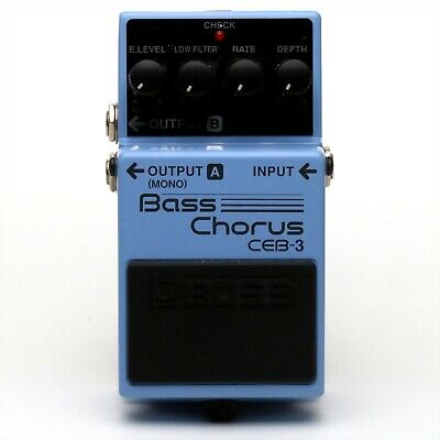 BOSS CEB-3 Bass Chorus Bass Guitar Effect Pedal