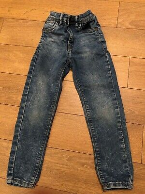 Next Boys Blue Jeans Size 6 Years
