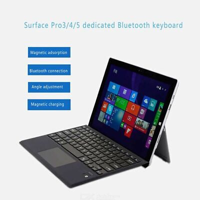 For Microsoft Surface pro3/4/5/6 Bluetooth Wireless Keyboard w/ Trackpad Black