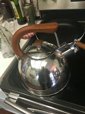 FANTASTIC La Sera Copper  Stainless Steel KETTLE -WHISTLING