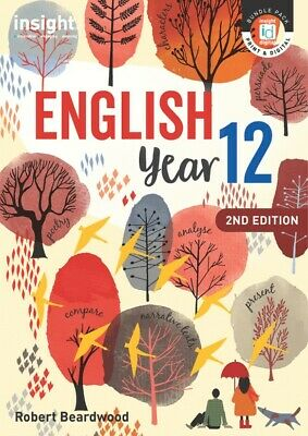 Insight English Year 12 2nd Edition by Robert Beardwood - ISBN 9781925778281