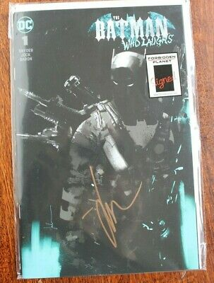 The Batman Who Laughs #1 Jock Variant Signed Edition