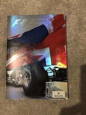 Formula 1 Rolex British Grand Prix 2017 - Official Programme