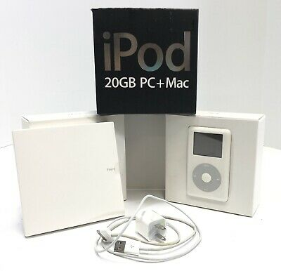 Apple iPod Classic Photo 4th Generation 20GB Clickwheel  With Box -  MA079LL