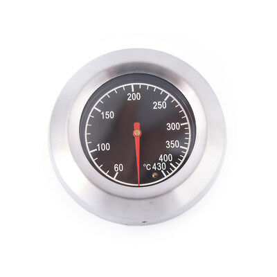 60-430℃ BBQ Smoker Grill  Steel Barbecue Thermometer Temperature Gauge Pip