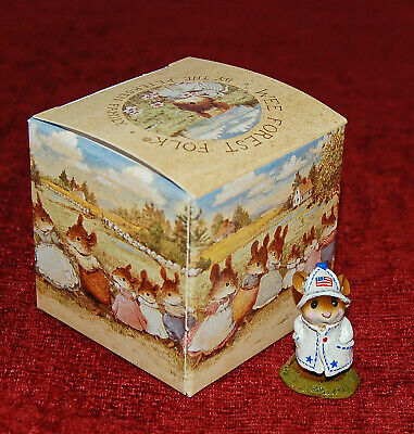 """WEE FOREST  """"APRIL SHOWERS"""" M-180 4th Of July Limited! In Original Box!"""