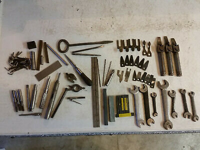 Misc Lot Of Machinist Tools Parts And Pieces