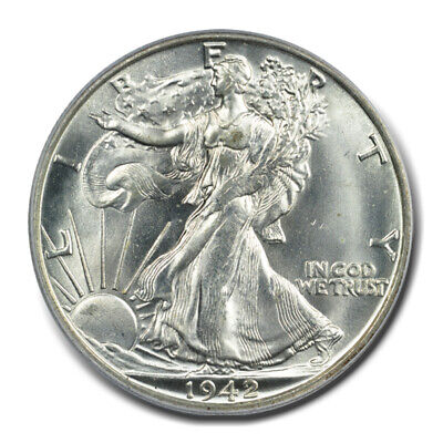 1942-D Walking Liberty Half Dollar MS-65 PCGS SKU#37751