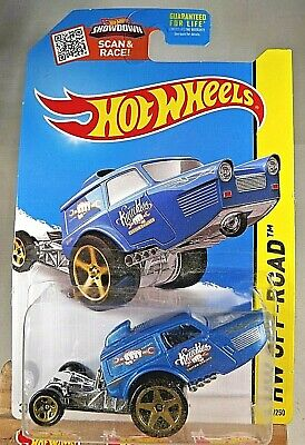 Blue Int. Card 2015 Hot Wheels HW OFF-ROAD HW Poppa Wheelie 115//250