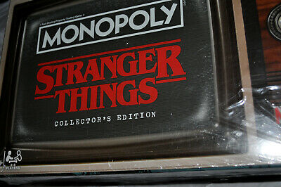 NEW Monopoly Game Stranger Things Collector's Edition Board Game FREE SHIPPING