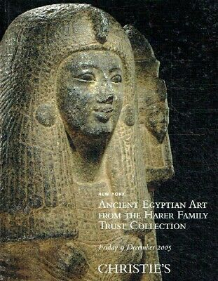 Christies December 2005 Ancient Egyptian Art , Collection of Harer Family