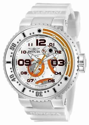 Invicta 27673 Star Wars Men's 52mm Stnlss Stl Ant Silver Dial Watch 0503/1977